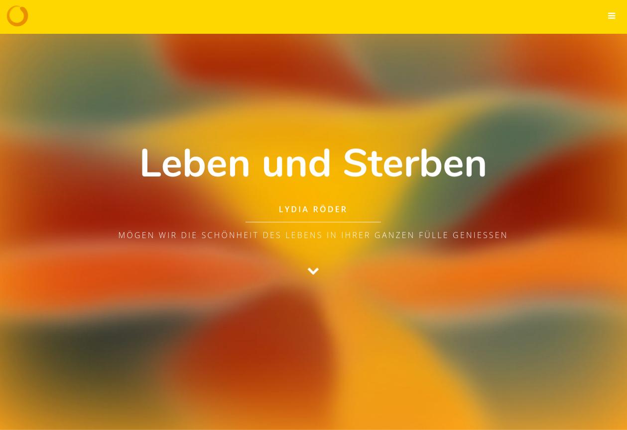 Verlinkter Screenshot Leben und Sterben (L. Röder)